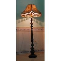 wodden floor lamp thumbnail image