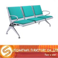 modern high quality barber waiting chair, airport chair, hospital resting seats