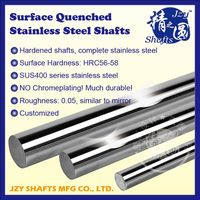 stainless steel surface hardend bright bar HRC56-58 high precision and durable