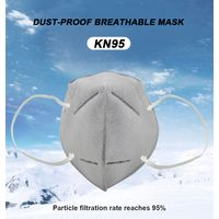 4 ply face mask disposable earloop antiviral n 95 face mask for indonesia vietnam thumbnail image