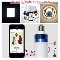 2014 newest hot selling bluetooth speaker led bulb