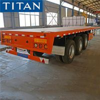 3 Axle Flatbed Semi Trailer for Sale in Zimbabwe