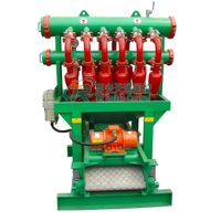 Drilling Mud Desilter with Clamp Connection of Cyclone ,Hydrocyclone Equipement Trenchless Micro - T thumbnail image