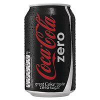 Coke Zero Cans 330ml x 24 Cans