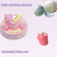 addition high transparent food grade liquid silicone rubber for cake molding