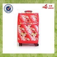 Pu Best soft Carry-on Suitcase BV certificate Hot Wheels Carry-on Suitcase factory price pu Luggage thumbnail image