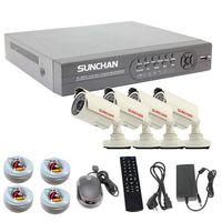 Economic DIY CCTV Bullet Camera Kit IP66