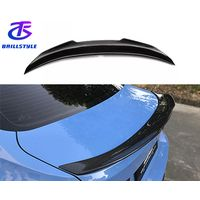 F30 F80 M3 PSM type carbon fiber rear spoiler for bmw 2012+ thumbnail image