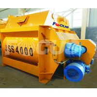 Twin-shaft Compulsory Concrete Mixer for sale