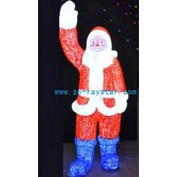 zhongshan raystar christmas oldman lights 2000leds 220v IP44