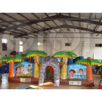 Inflatable Dora N Diego Learning Adventure Castle thumbnail image