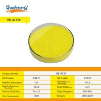 YAG yellow LED fluorescent powder for white light