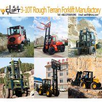 Welift 3-10t off-road Forklift Manufactory.