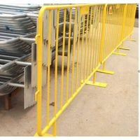 Galvanized/PVC Coated Crowd Control Barrier thumbnail image