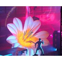 4m Giant Inflatable Flower for Concert and Event Decoration