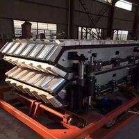 PVC glazed tile/wave tile/T tile/ synthetic resin tile production line