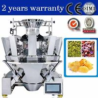 multihead weigher for candy gummy candy cashew chip