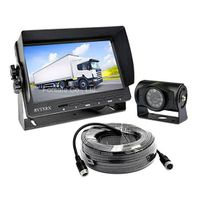 """Wired Backup Camera System with 7"""" Monitor for Truck, Trailer, RV, Motorhome thumbnail image"""