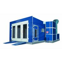 WLD6200 (CE) High Quality Garage Paint Booth/Car Spray Booth