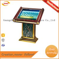 good feature floor lamp box hotel lobby sign stand dispay Kunda DT-08