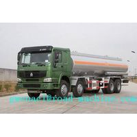 Water Tanker Truck SINOTRUK HOWO 38000L  8X4  with 380HP