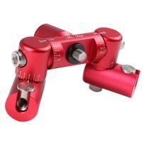 Precision Archery Balance Adjustable Off-Set Mount stabilizer Double V bar connector for compound bo