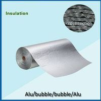 aluminum foil 2- layers bubble insulation thumbnail image