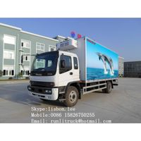 ISUZU refrigerator truck 10Tons for sale 008615826750255 (Whatsapp) thumbnail image