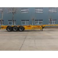 Tri-Axle Skeleton Container Trailer