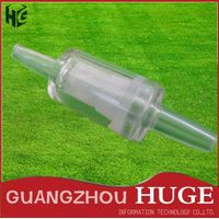 EXW Price 6mm Diaphragm Ozone Aqurium Plastic One Way Non-return Check Value for Air Pump
