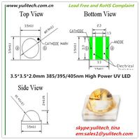 1000mW Super High Power output 395nm SMD/SMT3535 UV Curing LED