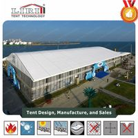Strong Wind Resistant All Weather Aluminum Tent For Exhibition