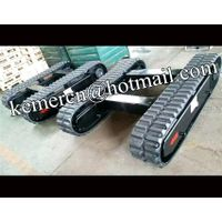 factory directly offered 1-30 ton rubber track undercarriage / rubber track chassis undercarriage
