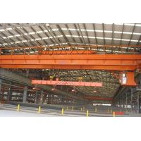 Overhead crane with magnet thumbnail image