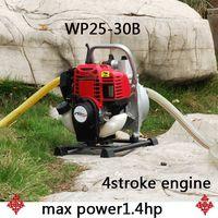 4stroke gasoline engine water pump WP25-30B