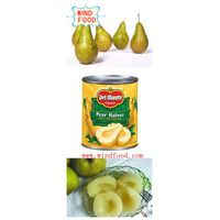 canned pear in good quality
