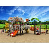Commercial Children outdoor playground slide equipment FY02901 thumbnail image