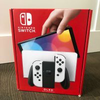Original New 2021 Nintendo Switch 64GB Internal Storage OLED Model with White Joy-Con