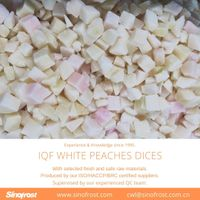 IQF Frozen Diced White Peaches thumbnail image