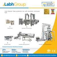 Labh Group Automatic Fried Plantain Banana Chips production line machines