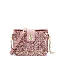 Glitter PU fashion shoulder bag 2019 new design