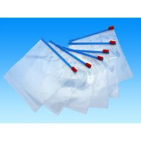 Custom different sizes different color ldpe slider bag