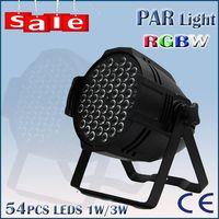 DJ bar stage light 54pcs 3w RGBW LED par 64 thumbnail image