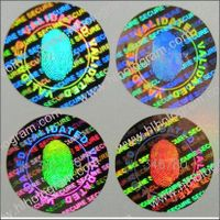 Hologram Sticker, Security Sticker, Label