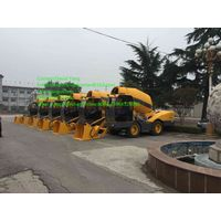 4 WD self-loading concrete mixer for sale made in China