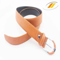Fashion leather belt made of top grain cowhide