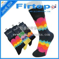 custom design with logo colorful men's casual socks thumbnail image