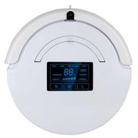 LCD Display Touch Control Robot Vacuum Cleaner E21