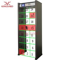 24zone door frame metal detectors for airport security check