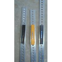 Large Pipe and Cylinder Rubber Tag - Yellow [PC-102-104-bar-I]-UHF 900Mhz